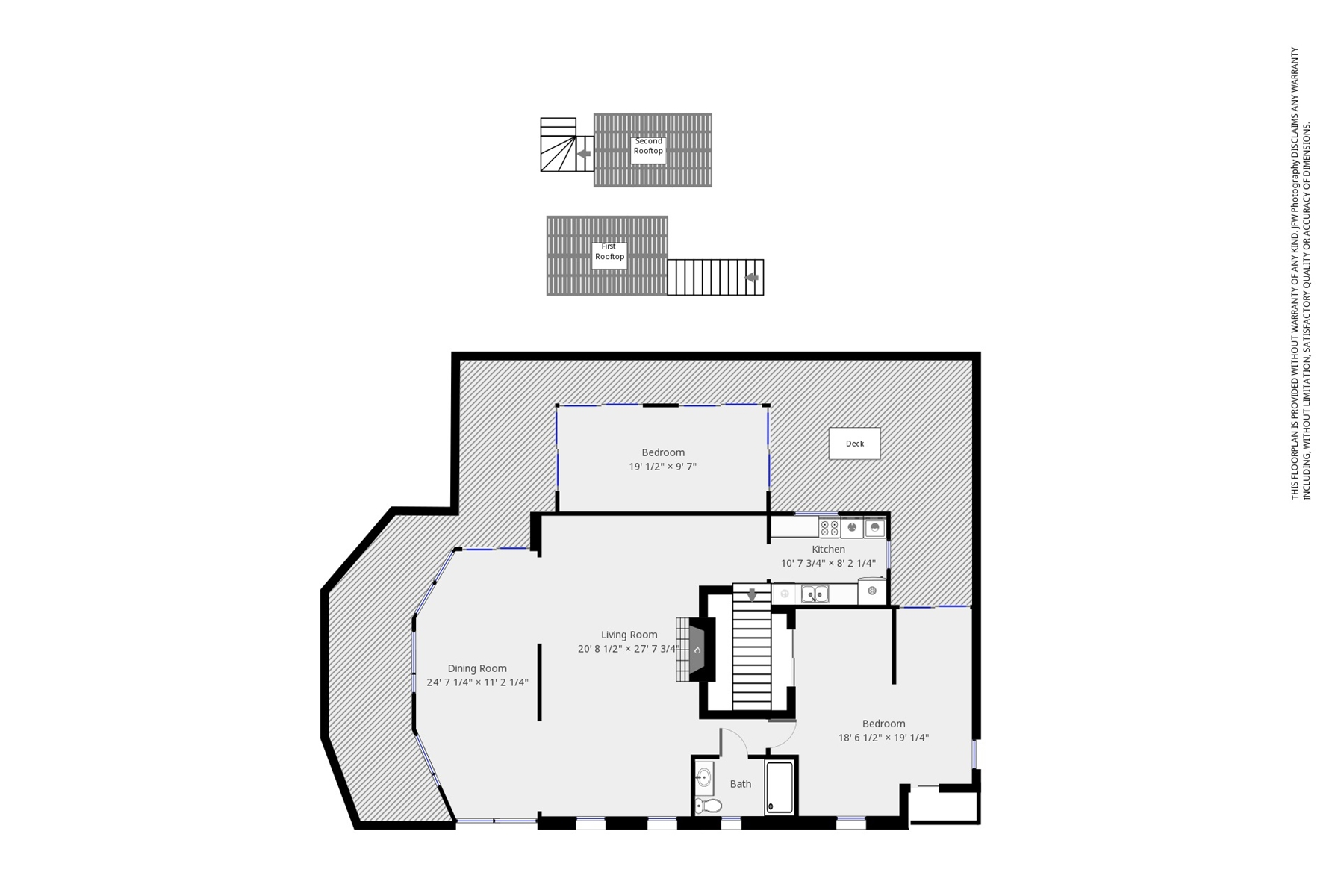Floor Plan for Nauset Lookout - 4 Minute Walk to Nauset Beach, Ocean View